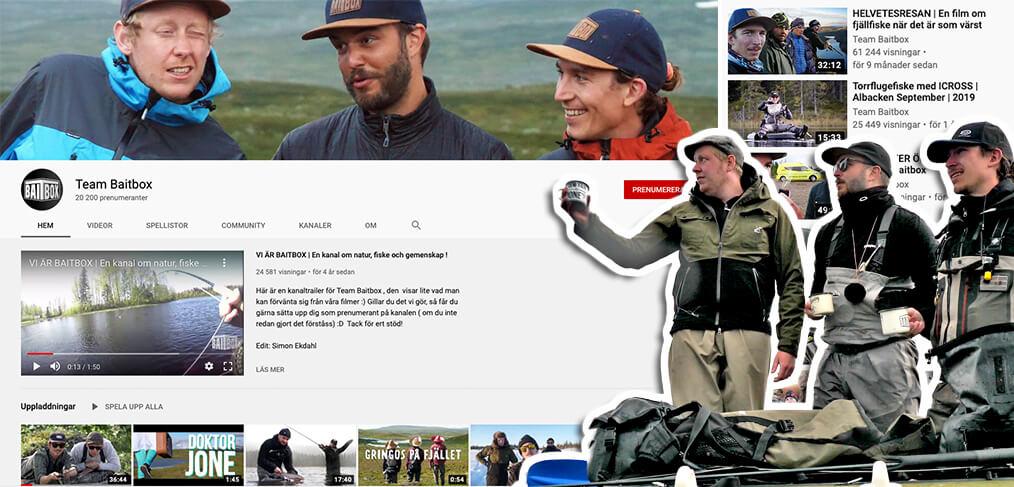 Baitbox kombinerar youtube med VOYD