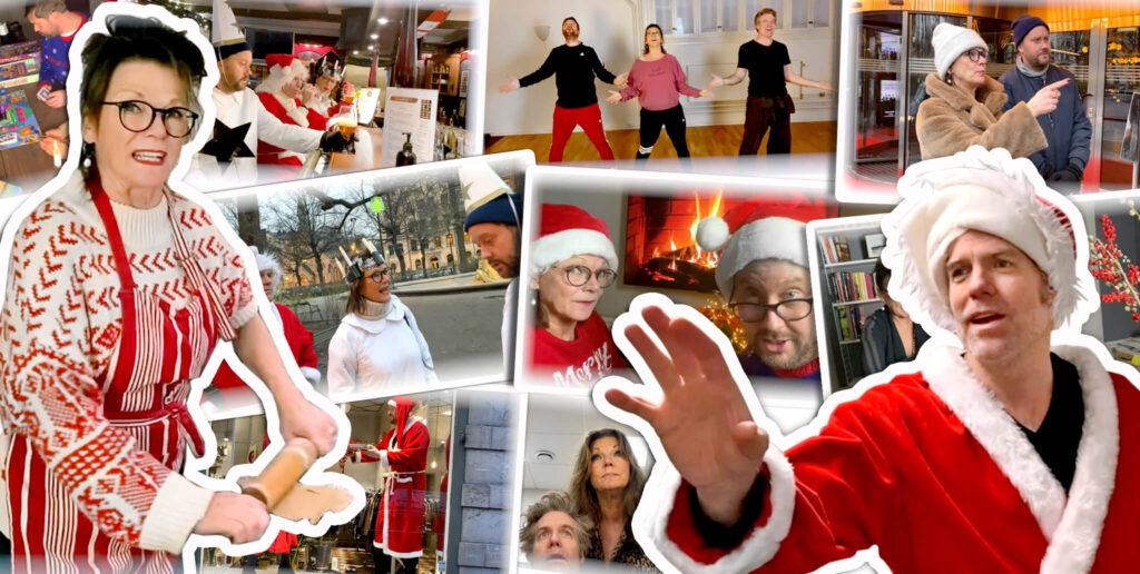 Julkalendern Katrin Sundberg Daniel Sjöberg
